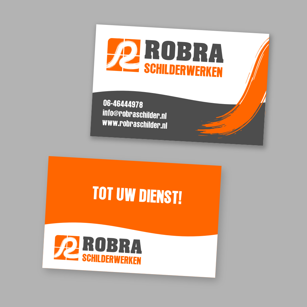 Robra - Logo en visitekaartje