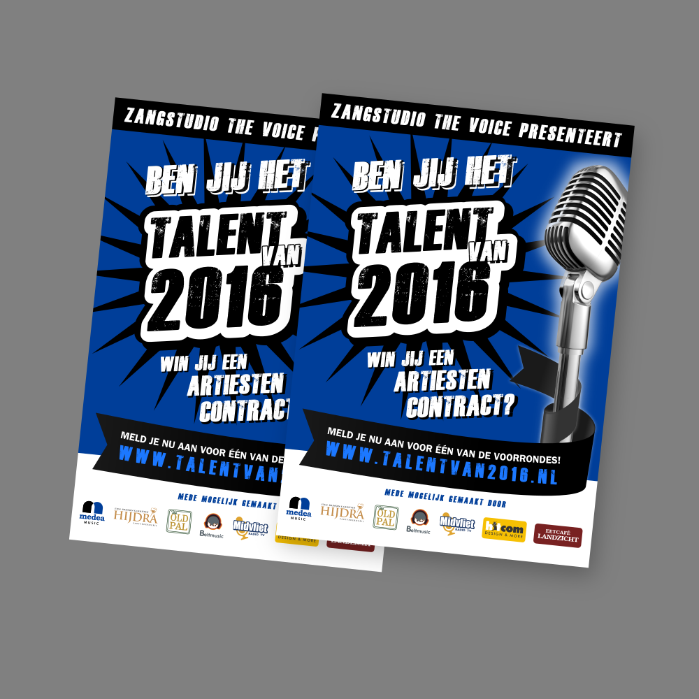 Talent van 2016 - Poster & logo